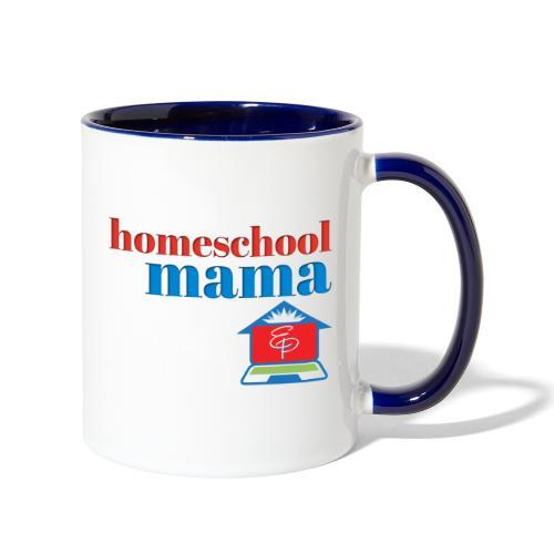 Homeschool Mama - Contrast Coffee Mug