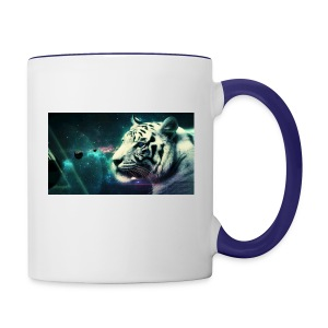 White_tiger - Contrast Coffee Mug