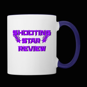 Shooting Star Review Purple Logo - Contrast Coffee Mug