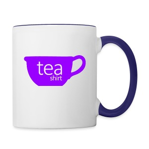 Tea Shirt Simple But Purple - Contrast Coffee Mug