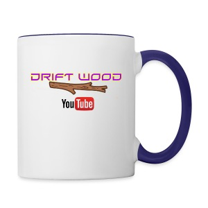 Drift Wood Official Merchandise WHITE - Contrast Coffee Mug