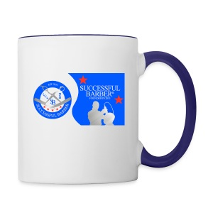 Official Successful Barber - Contrast Coffee Mug