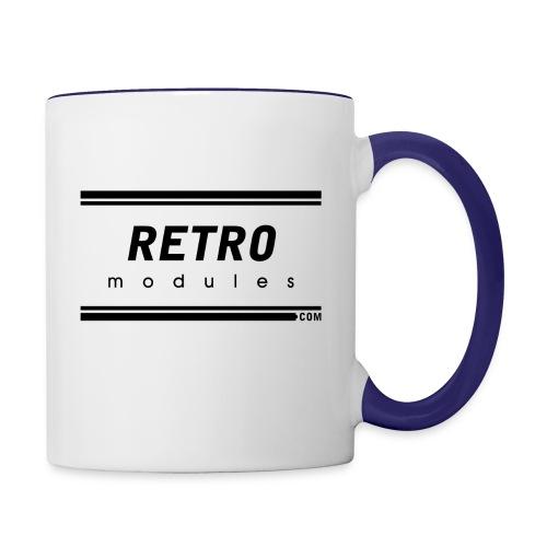 Retro Modules - Contrast Coffee Mug