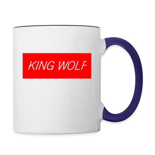 KING WOLF - Contrast Coffee Mug