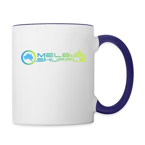 Melbshuffle Gradient Logo - Contrast Coffee Mug
