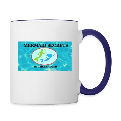 Mermaid Secrets By Theekholms - Contrast Coffee Mug