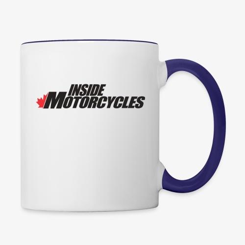 Inside Motorcycles Logo - Black - Contrast Coffee Mug
