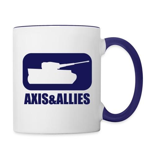 Axis & Allies Tank Logo - Dark - Contrast Coffee Mug