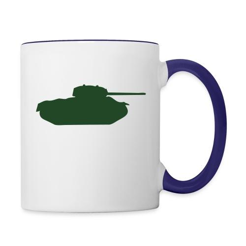 T49 - Contrast Coffee Mug