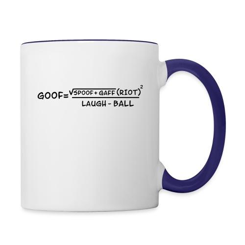 gaff text3 - Contrast Coffee Mug