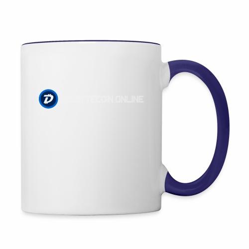 Digibyte online light - Contrast Coffee Mug