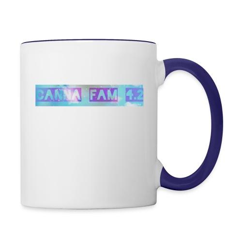Canna fams #3 design - Contrast Coffee Mug