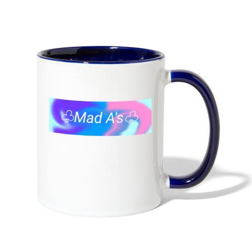 Mad A's Mug - Contrast Coffee Mug