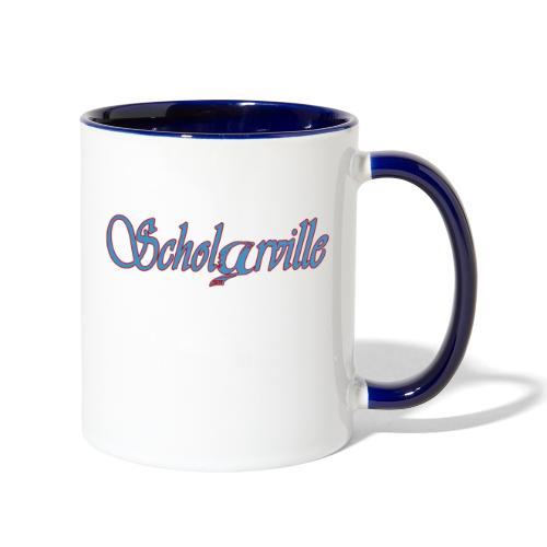 Welcome To Scholarville - Contrast Coffee Mug