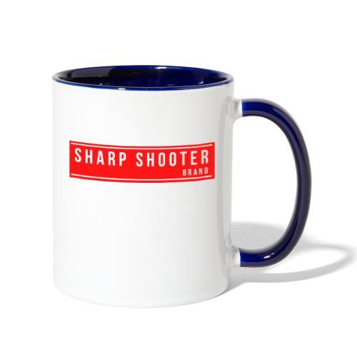 SHARP SHOOTER BRAND 1 - Contrast Coffee Mug