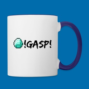 Diamond Gasp! - Contrast Coffee Mug