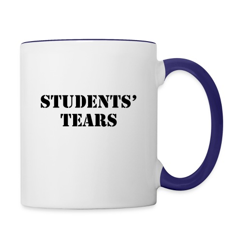 Student Tears - Contrast Coffee Mug