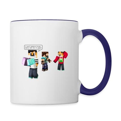 Mr Onion does it again! - Contrast Coffee Mug