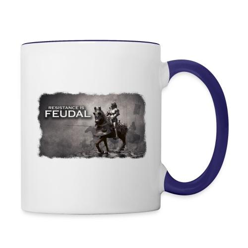 Resistance is Feudal 2 - Contrast Coffee Mug