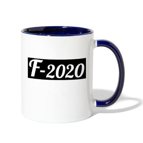 F-2020 - Contrast Coffee Mug