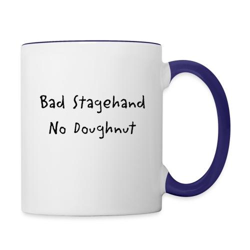 baddoughnut - Contrast Coffee Mug