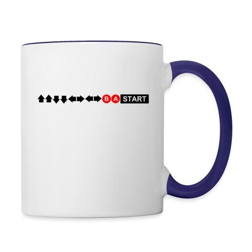 Contra Code Men's Ringer T-Shirt - Contrast Coffee Mug