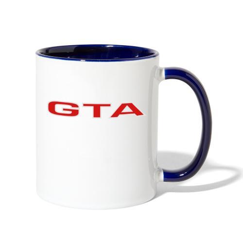 Alfa 155 GTA - Contrast Coffee Mug