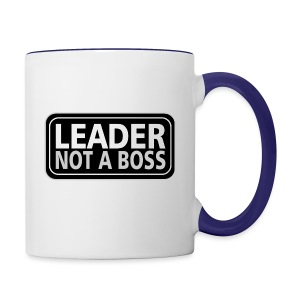 Leader - Contrast Coffee Mug