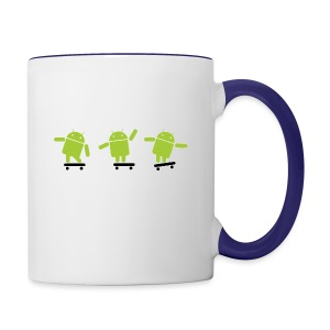android logo T shirt - Contrast Coffee Mug