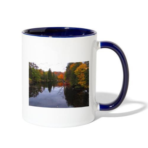 Nature Coffee Cup - Contrast Coffee Mug