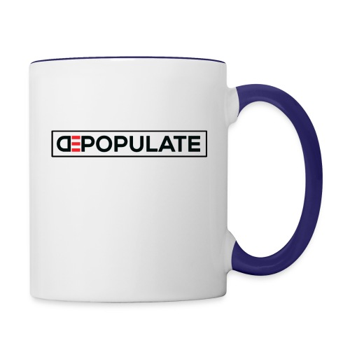 DEPOPULATE 3 - Contrast Coffee Mug