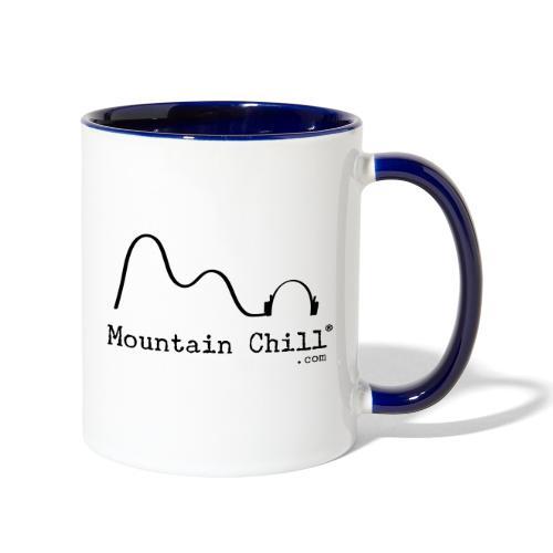 Mountain Chill Radio Official - Contrast Coffee Mug