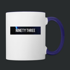 Ninety Three Official (1st Cop) - Contrast Coffee Mug