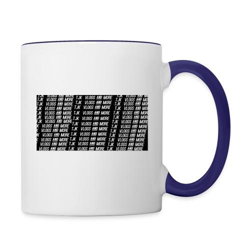 TJK First Apparel Design - Contrast Coffee Mug