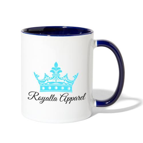 Royalla Apparel Side Logo - Contrast Coffee Mug