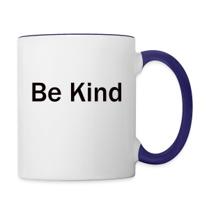 Be_Kind - Contrast Coffee Mug