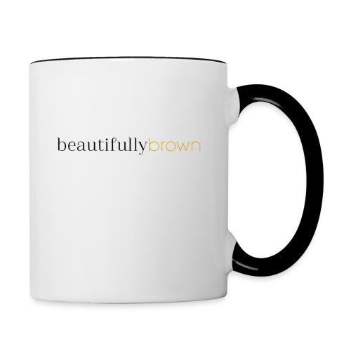 beautifullybrown - Contrast Coffee Mug