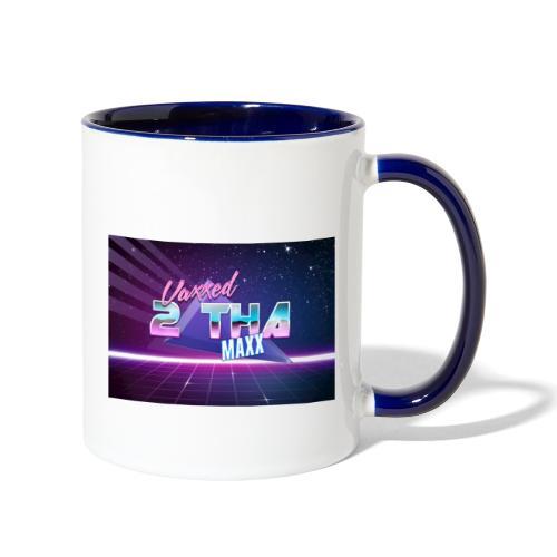 Vaxxed 2 the MAXX - Contrast Coffee Mug