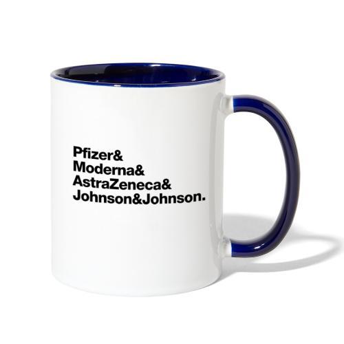 Covid Vaccines are Here! - Contrast Coffee Mug