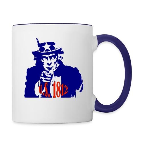 uncle-sam-1812 - Contrast Coffee Mug