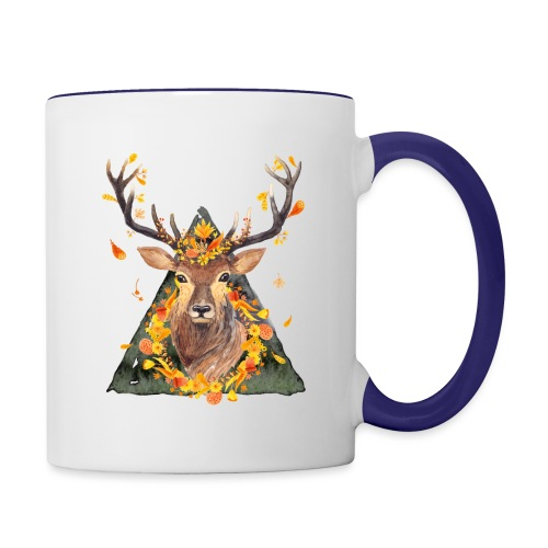 The Spirit of the Forest - Contrast Coffee Mug