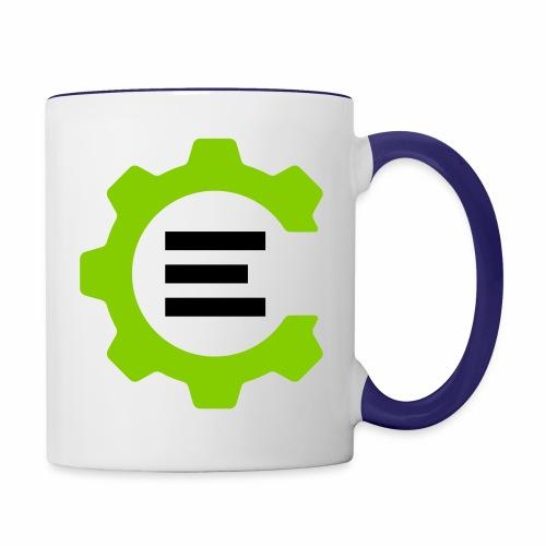 Giant Logo - Contrast Coffee Mug