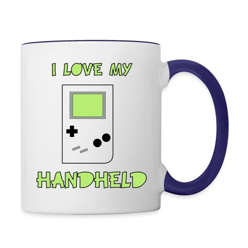 I love my Handheld - Contrast Coffee Mug