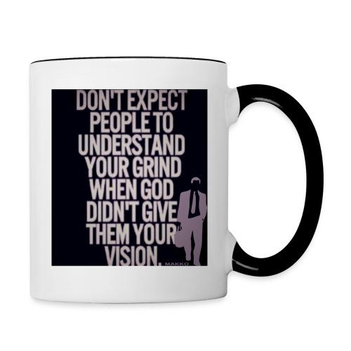HUSTLE 10 - Contrast Coffee Mug