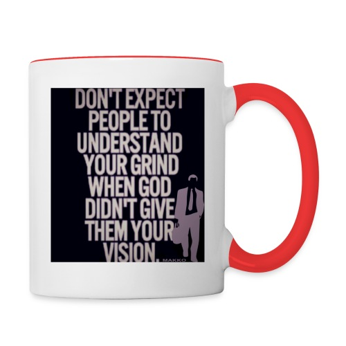 HUSTLE 10 - Contrast Coffee Mug