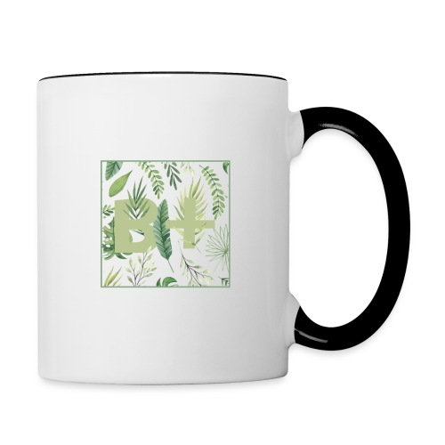Be positive - Contrast Coffee Mug