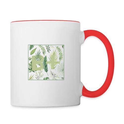 Be positive - Contrast Coffee Mug