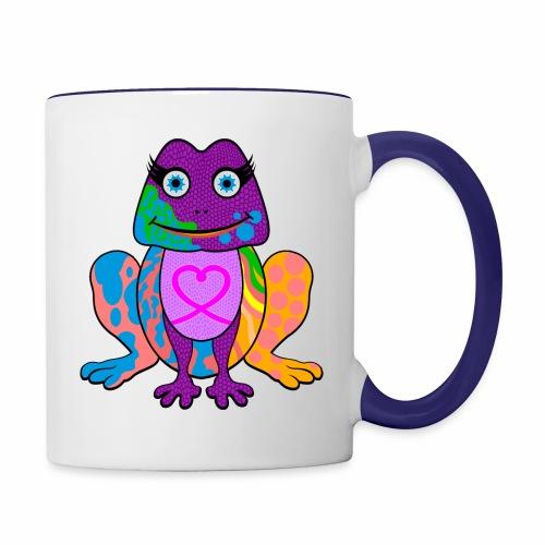 I heart froggy - Contrast Coffee Mug