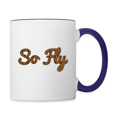 So Fly Tiger - Contrast Coffee Mug