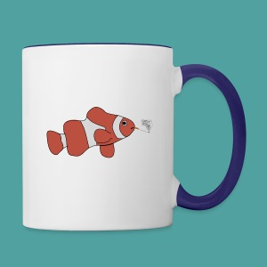 fisheye - Contrast Coffee Mug